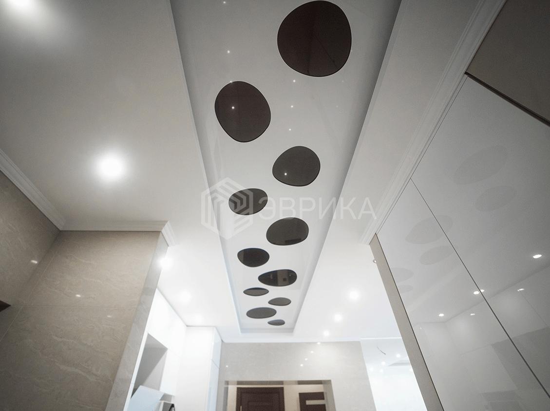 черно белый резной потолок екатеринбург