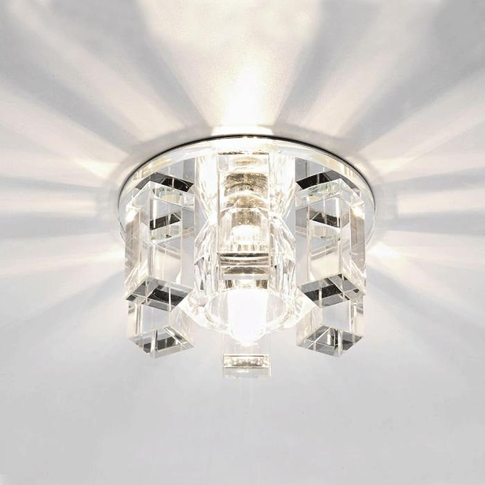 Точечный светильник с большими лучами