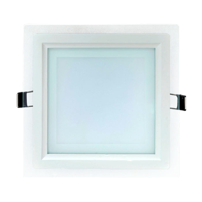 квадратный светодиодный светильник