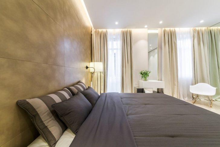 парящий потолок в спальню