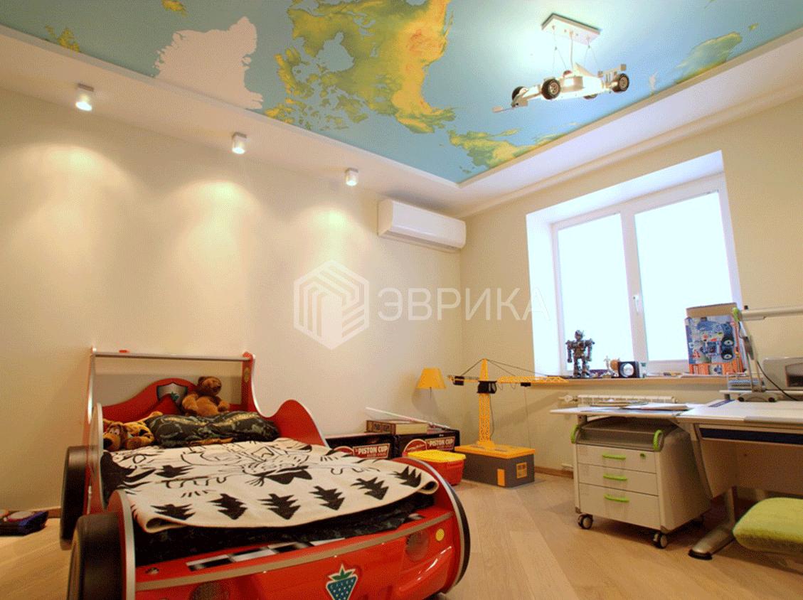 фотопечать на потолок в детскую