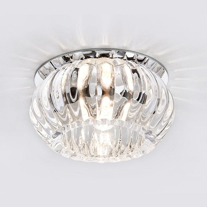 стеклянный точечный светильник