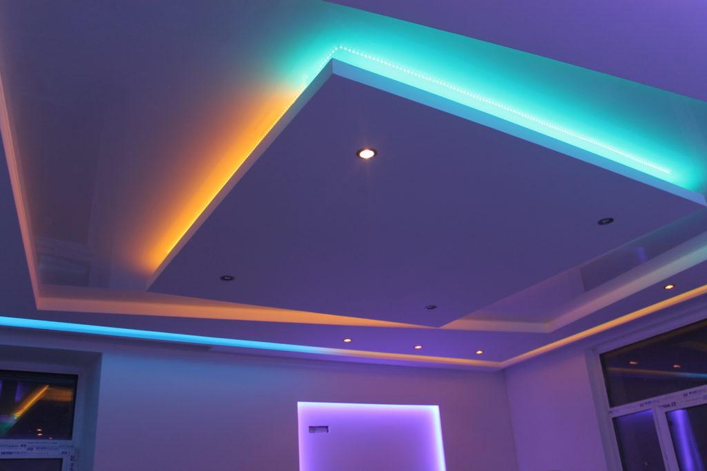 товары натяжной потолок с подсветкой пункт ЮНИСТРИМ Ханты-Мансийский