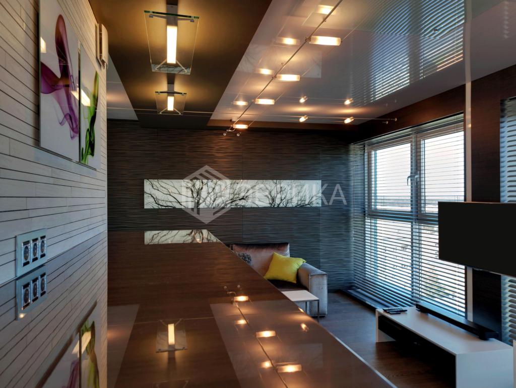 натяжной потолок в кабинет