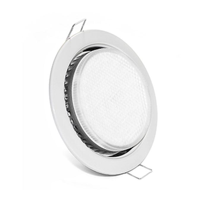 белый точечный светильник